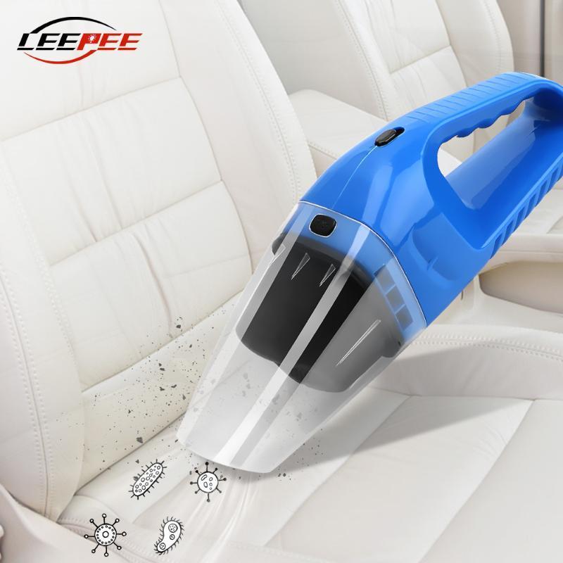 Наборы Пылесосы LEEPEE автомобилей для влажной и сухой уборки Aspirador Ручной Переносной Clean Аксессуары со светодиодной подсветкой 12V 120W