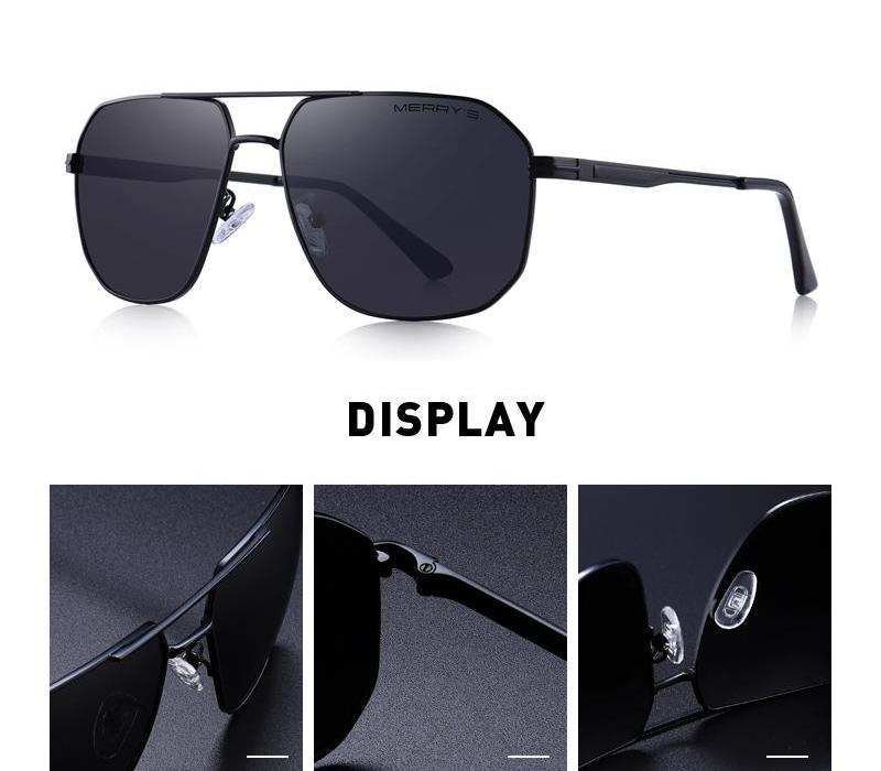 Merrys les hommes de conception classique Lunettes de soleil HD lunettes Polarisés pour les hommes au volant Homme Lunettes UV400 Protection98