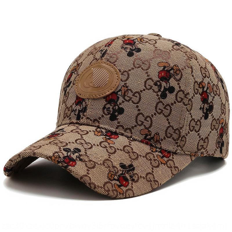 Rvw5h 2020 stile coreano cappello da sole cappello della protezione berretto da baseball baseball di sole di estate di corsa del fumetto