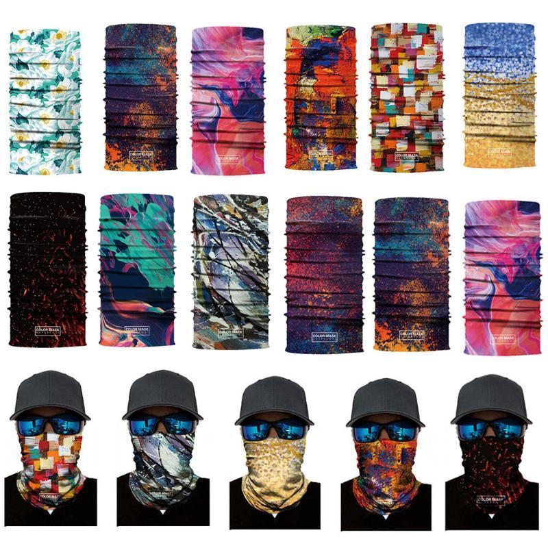 1 PC Digital Printing Magic Head Scarf Cycling Bandana Fishing Headband Moto Bicycle Hijab Face Shield Mask Outdoor Accessories