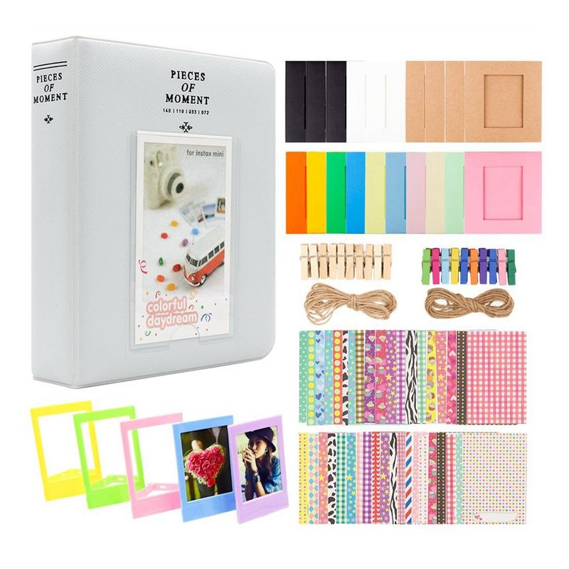 for Instax Mini Camera, for Polaroid 3 Inch Photo Sticker Color Photo FrameSnap, Z2300, SocialMatic Instant Camer