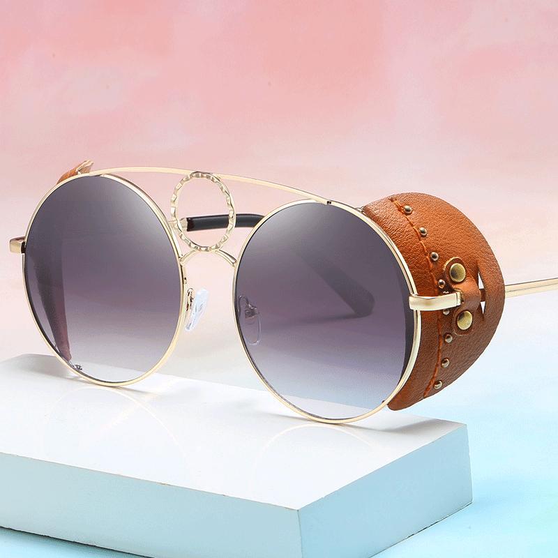 2020 mujeres de la manera Gafas de sol Marca diseñador de las mujeres metal de la vendimia Gafas de sol gafas de sol Señora Sombras Gafas feminino