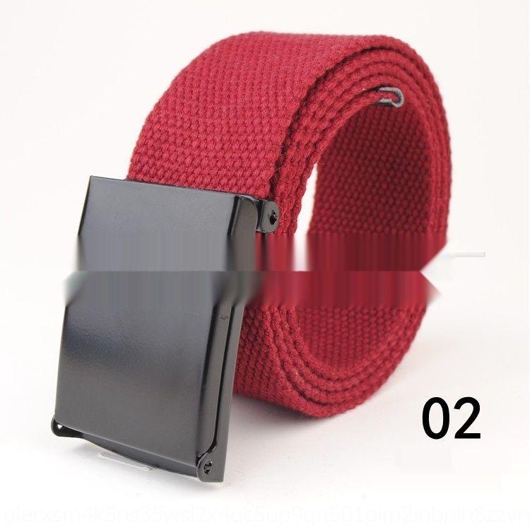 fibbia all'aperto e wo personalizzati possono essere allungate della tela di canapa dell'inarcamento degli uomini e donne Cintura canvaspersonalized tela esterna può essere leng