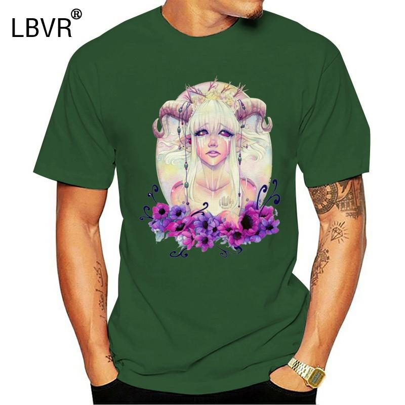 Şeytan Kız Lilith Baphomet Şeytan Satanizm Mans Womans Tişört