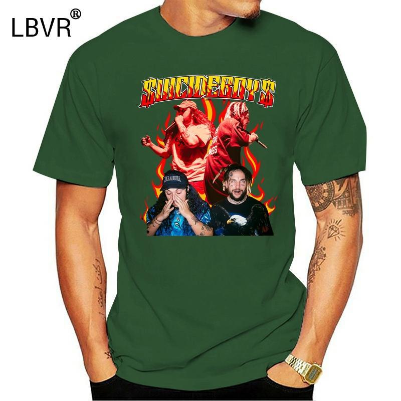Suicideboys Rap Tour - Uicideboy nero parti superiori della maglietta Nuovo unisex divertente Tee Shirt