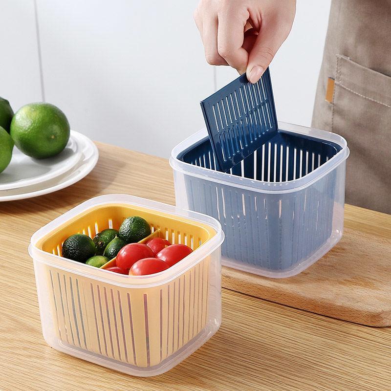 caixa de armazenamento de alho 20200911 separado fresco caixa de manutenção cozinha cebolinha gengibre