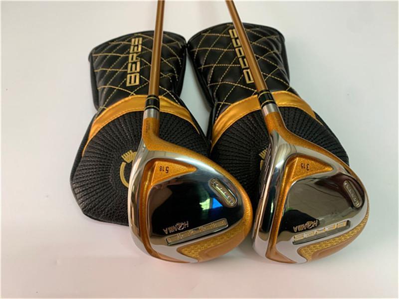 4-Sterne-Honma S-07 Fairway Woods Honma S-07 Golf Woods Honma Golf Clubs # 3 / # 5 Graphitwelle mit Kopfabdeckung
