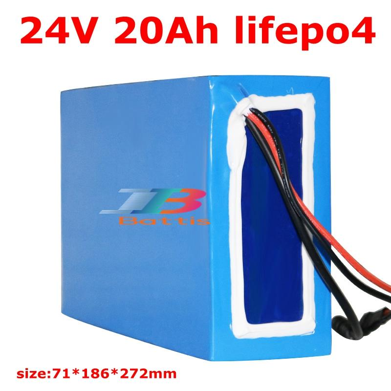 Brand lifepo4 24v 20Ah battery pack bike for electric scooter lithium 700w 750w motor 500w
