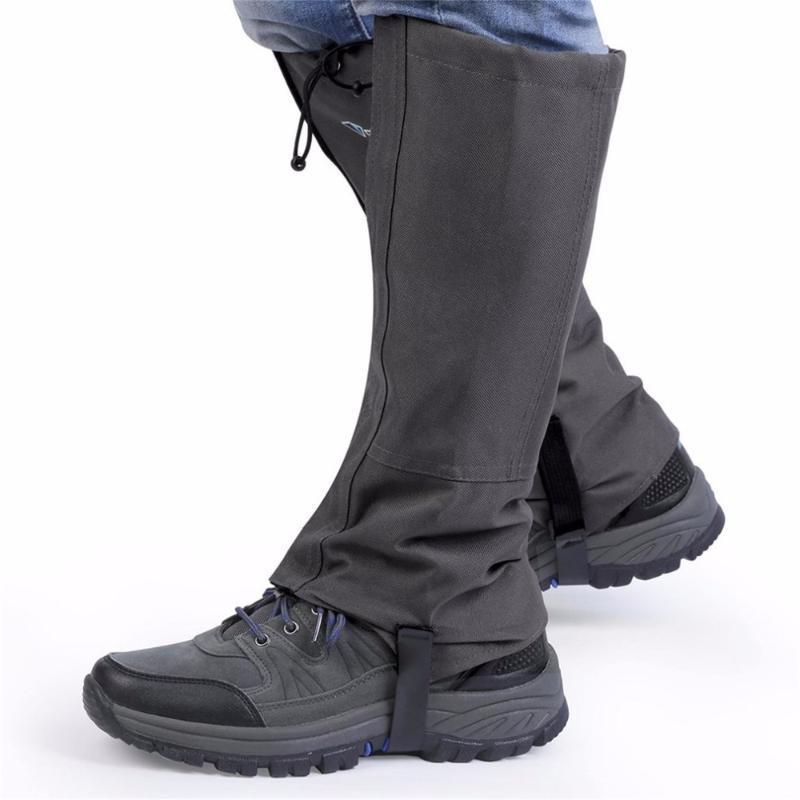 Nuovo 1 accoppiamento / Set esterna impermeabile Escursionismo Walking Arrampicata Caccia Trekking Neve Legging Ghette Inverno Leg Attrezzature Protect
