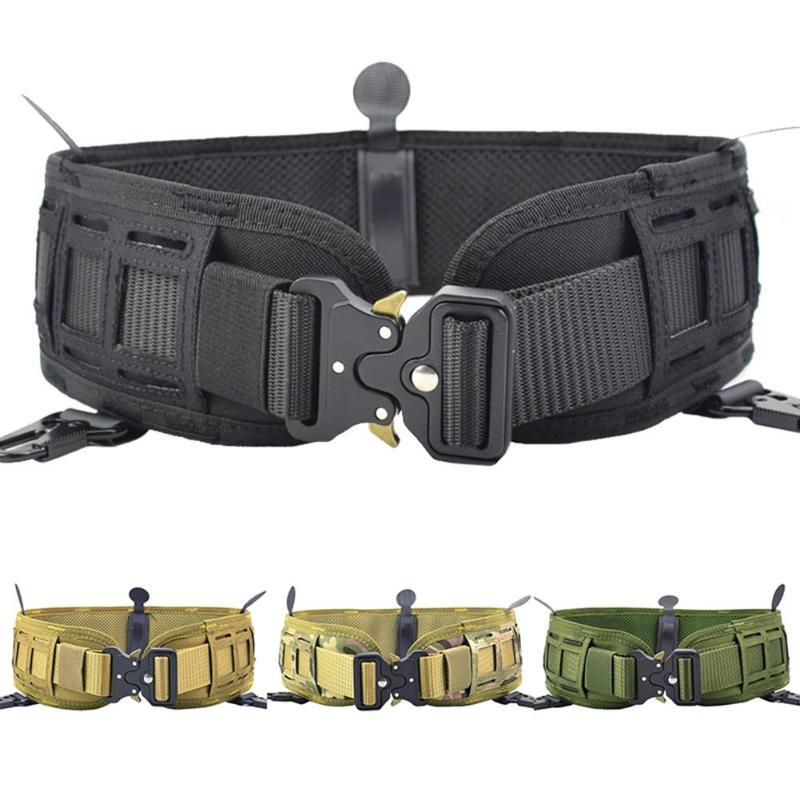 Outdoor Training di caccia di Molle dell'esercito ingranaggi cinghia di vita larga Set Outdoor Sport Accessori