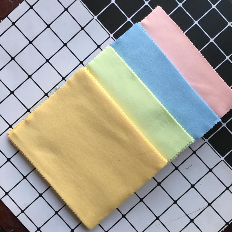 LPzjN verres matériau léger en microfibres gris verres needle trois chiffon d'essuyage en tissu salle de piano hot pot imprimable
