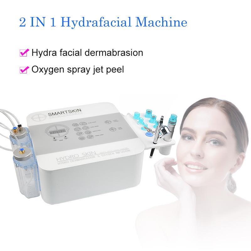 Injeção de Oxigênio Protable Máquina Facial O2 Jet Peel Cuidados de Pele Rejuvenescimento Máquina Equipamentos Sistema Beleza Euqipment Beauty Machine