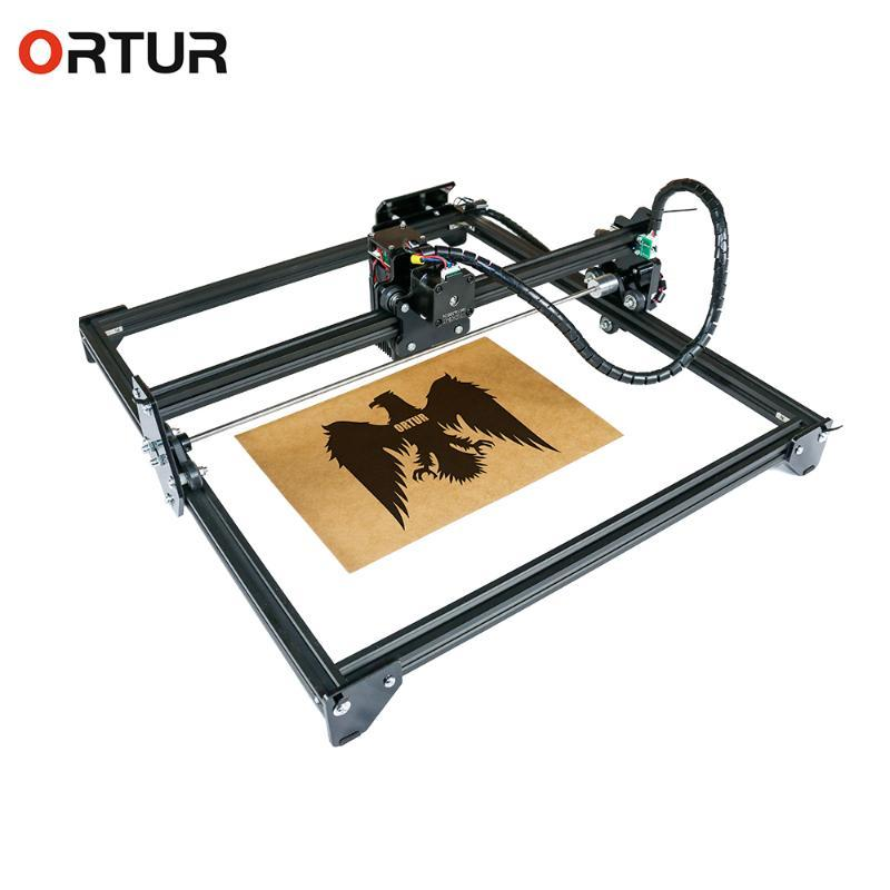 ORTUR Lazer Usta 2 Lazer Gravür Kesme Makinası 15W Masaüstü Oymacı ve Kesici Hızlı ve Yüksek Hassas Yazıcı