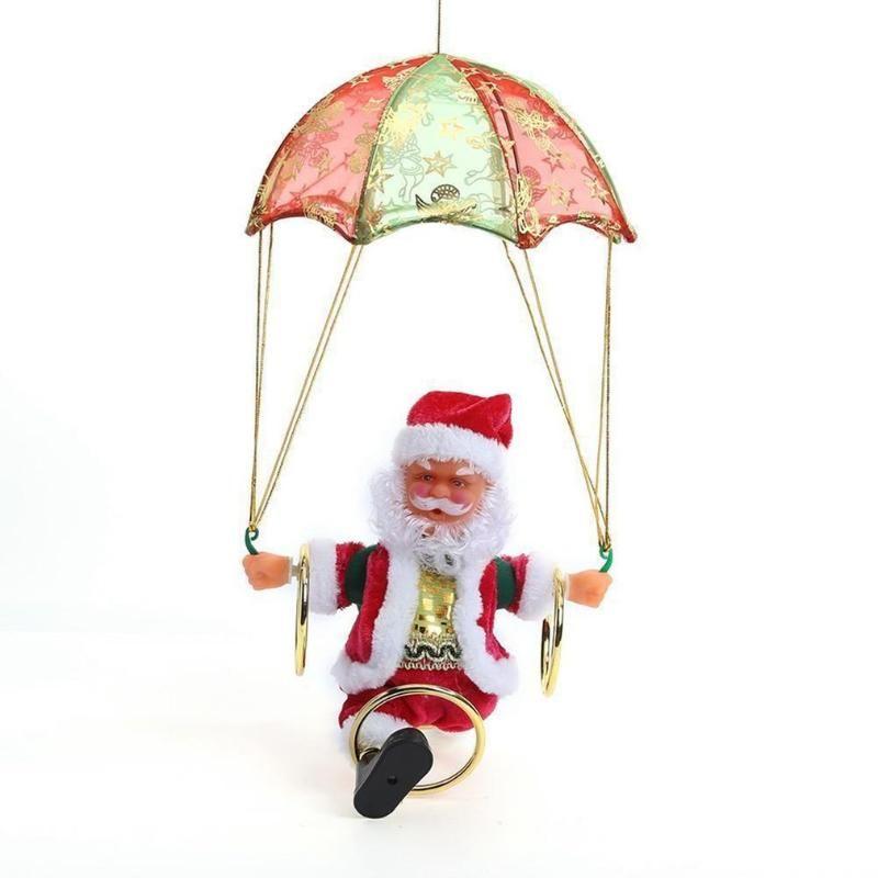 Presentes de Santa elétrica Toy Noel cantando e dançando Musical Natal da boneca de Crianças Boneca elétrica brinquedos
