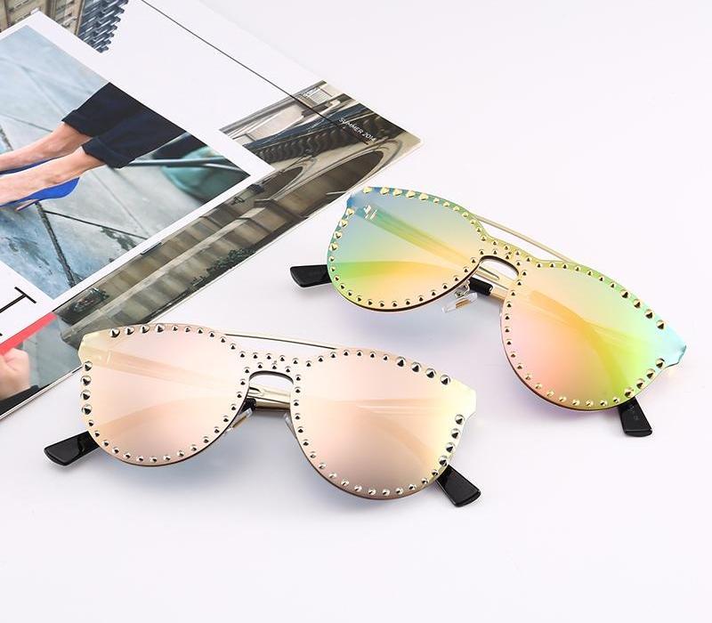 lunettes de soleil miroir mode photochromiques femmes 2018 produits Trending or rose violet lunettes de soleil polarisées oculos de sol98
