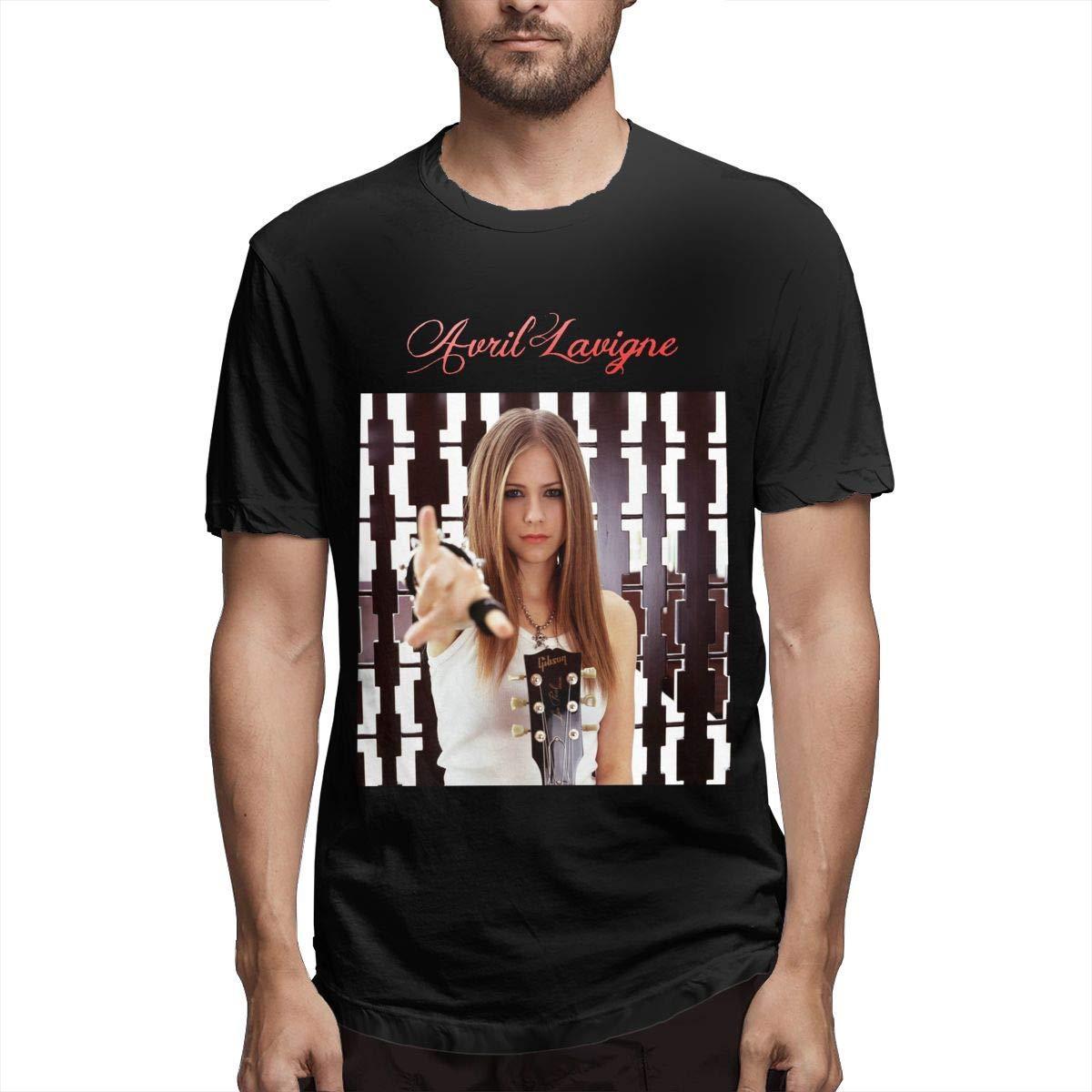 Avril Lavigne Mens.Menthe Nuovo Tee T-shirt stampata estate casuale Top Tee divertente raffreddano la maglietta degli uomini di alta qualità T-Plus Size
