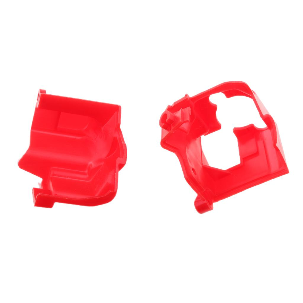 Red Oil Pump Cover Set Top Bottom Plastic Housing for Yamaha PW50 PEEWEE50