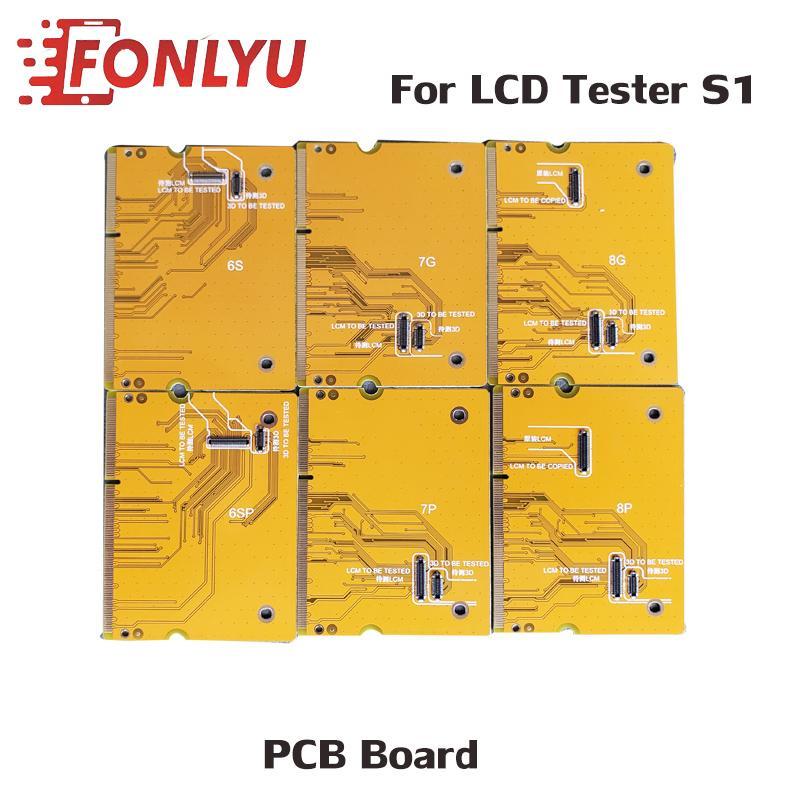 Os mais recentes PCB Board Para 6S 6SP 7 7P 8 8 Plus LCD de tela Caixa Tester Ferramenta Motherboard Toque Tester toque 3D