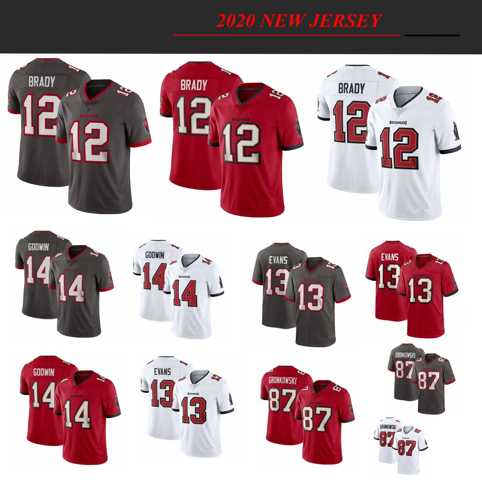 2021 12 Tom Brady 2020 New Football Jersey Buccaneer87 Rob ...