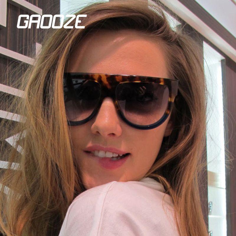 GAOOZE Women's Glasses Sun Glasses Women Vintage Retro Sunglasses 2020 Oversized Round Sunglasses LXD353