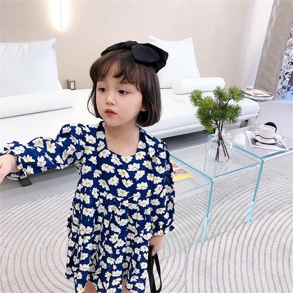 Facejoyous ромашке Девочки Одежда Детские платья для девочек Цветок Осень Детская одежда Детская костюм принцессы Одежда 0924