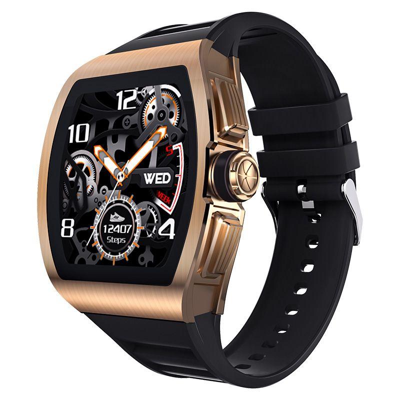 M1 الذكية ووتش الرجال 24 ساعة رصد معدل ضربات القلب IP68 للماء ساعة ذكية للحصول على الروبوت IOS الهاتف ووتش الرياضة حالة سبائك