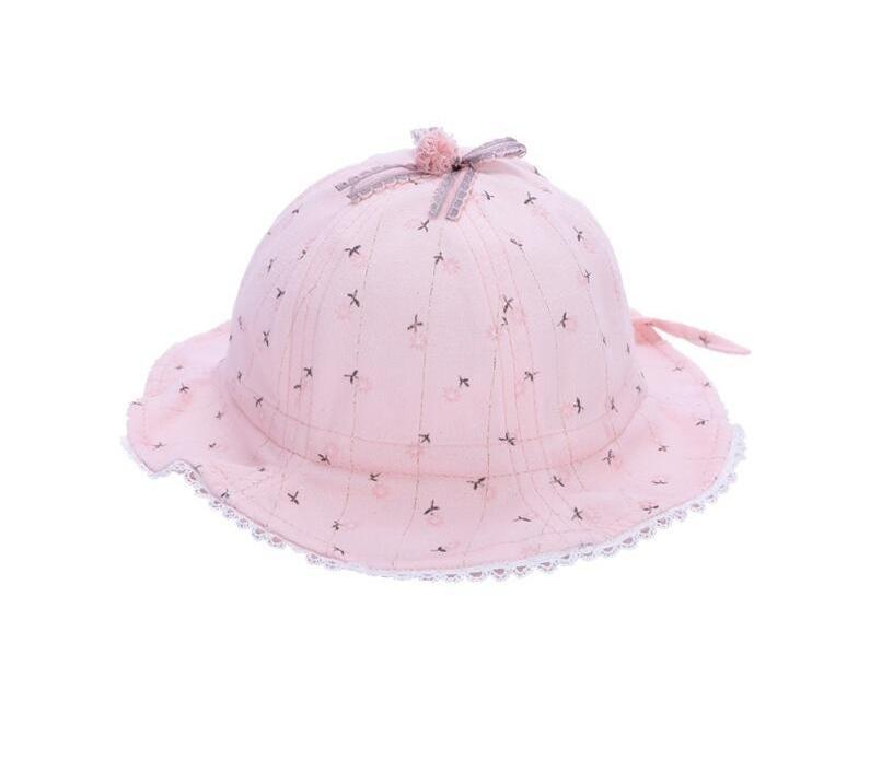 Printemps et Automnes Femme Bébé Pêcheur Hat Enfants Sun