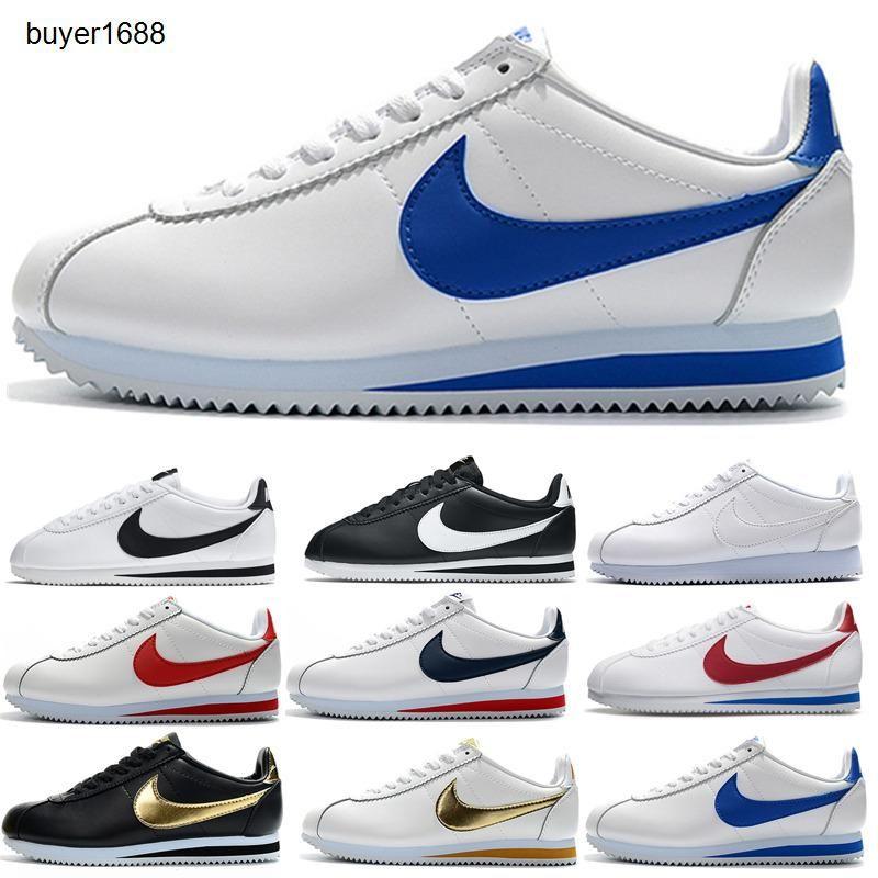 Alta qualidade Hot novas marcas Casual Shoes homens e mulheres cortez moda sapatos de lazer Conchas sapatos de couro ao ar livre Sneakers HH789