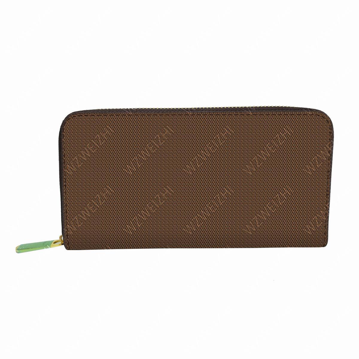 Hot vente Hommes Classique bourse Mode femmes longue fermeture éclair Porte-cartes de portefeuille sacs en cuir Porte-Monnaie embrayage Sacs de haute qualité M42616
