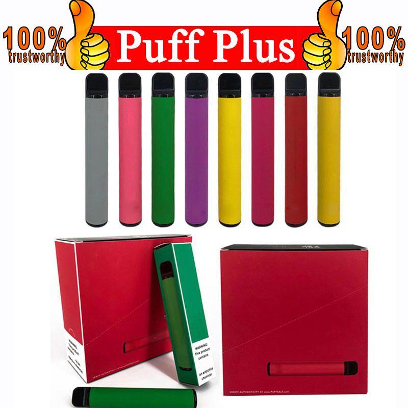 PUFF bar oltre Vape monouso 800 + Puff Cartridge 550mAh Battery 3.2mL pre-riempite sigarette Vape Vape Pods Stick Style Portable vaporizzatore