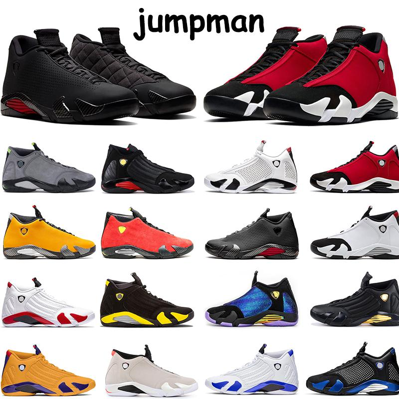 14 14s Jumpman Basketball Shoes Gym Red Black Red Candy Cane Doernbecher SatinJordanRetro Mens Trainers Sports Sneakers Size 40-47