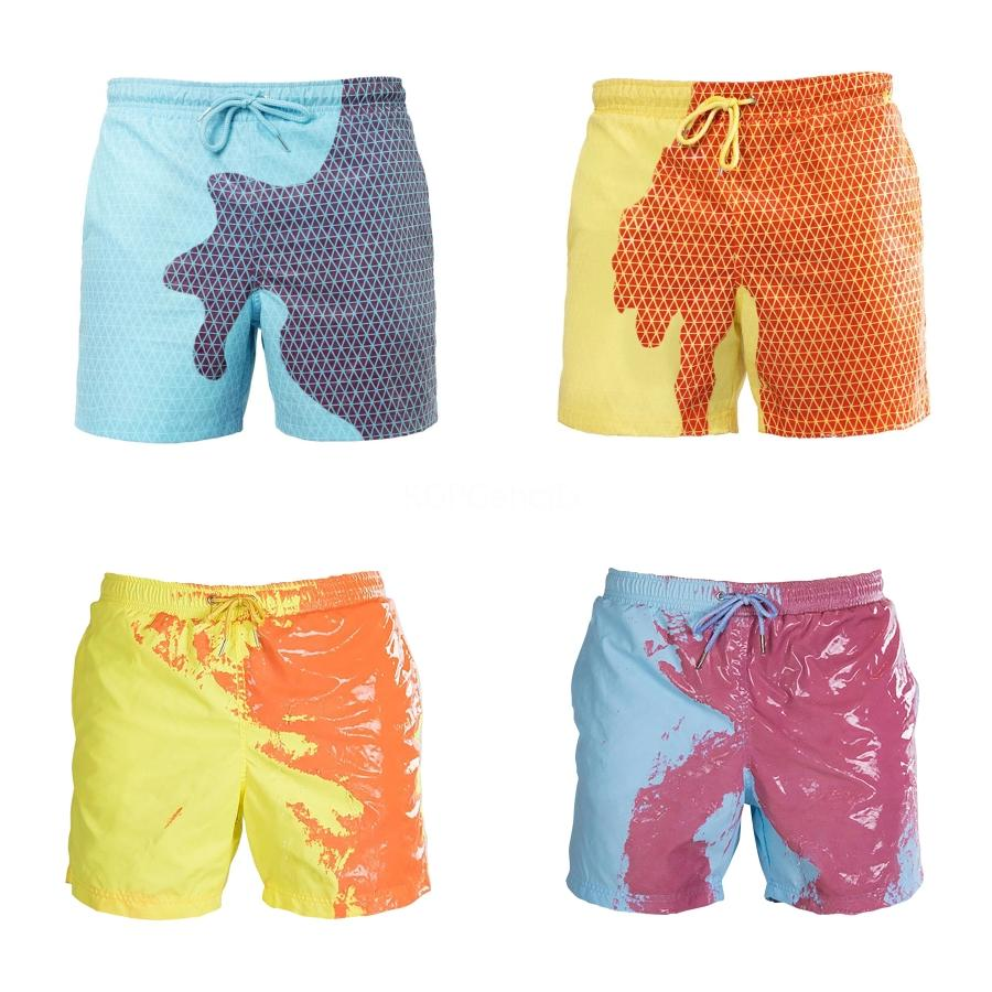 Tamaño XL-6XL Plus baño Hombre Bañador de bolsillo de la cremallera del traje de baño para hombre pone en cortocircuito la playa el hombre vista calzoncillo retro bañadores # 851