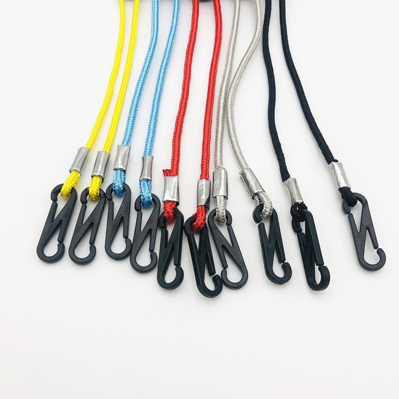 Masque facial longe réglable Extension Handy corde coupe-vent pratique repos oreille Porte anti-perte Longe DHL Livraison gratuite