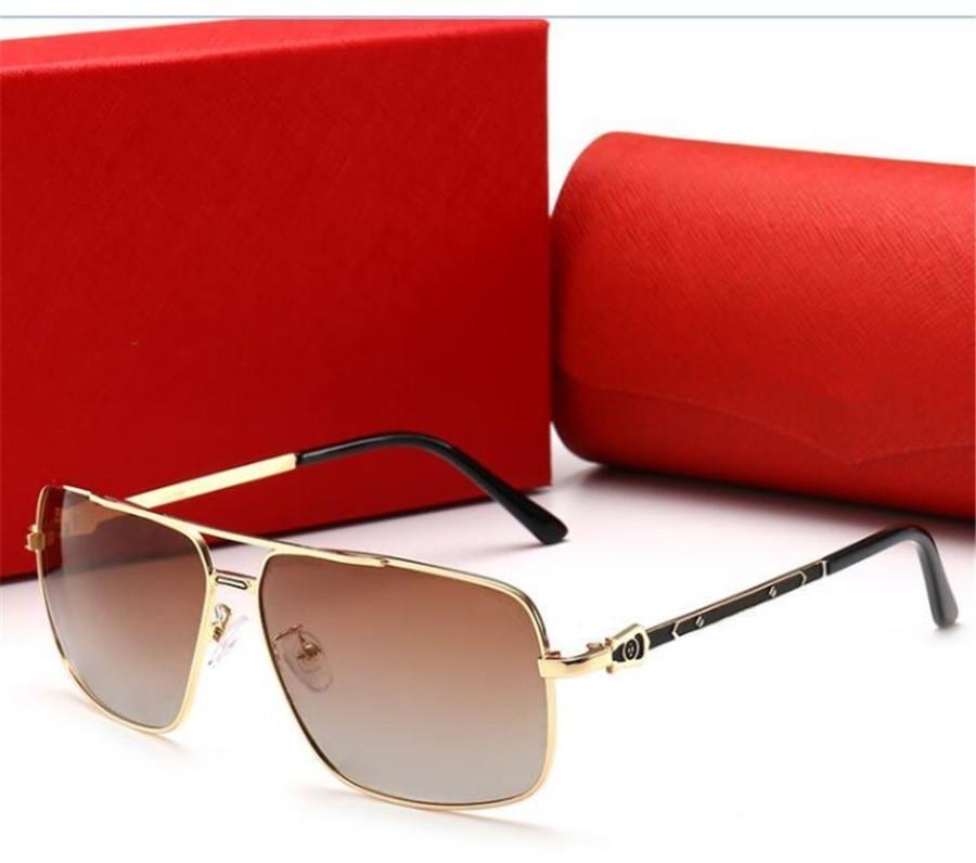Sommermens Sonnenbrillen Goggle Sonnenbrille 0125 Gläser für Mann Rechteck Gläser Driving UV400 hohem Grade Qualität mit Box