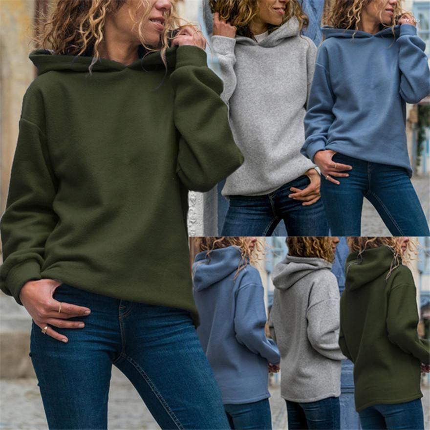 Frauen Langarm Femme Mit Kapuze Sweatshirts Dropshipping Designer Damen Hoodies Lose Massive Mode Sweatshirt Lässig