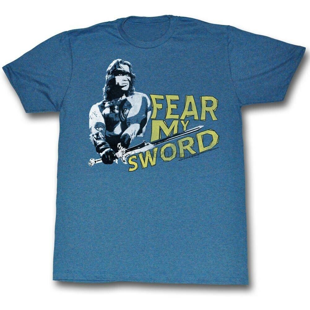 Конан Варвар Mine лучше синий T-Shirt