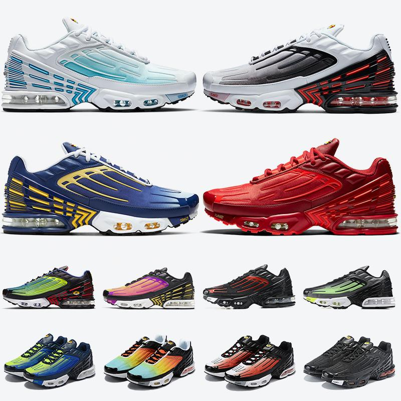 nike air max plus 3 airmax tn plus 3 tênis de corrida masculino feminino ultra SE ultra sintonizado x laser azul triplo preto vermelho carmesim tênis