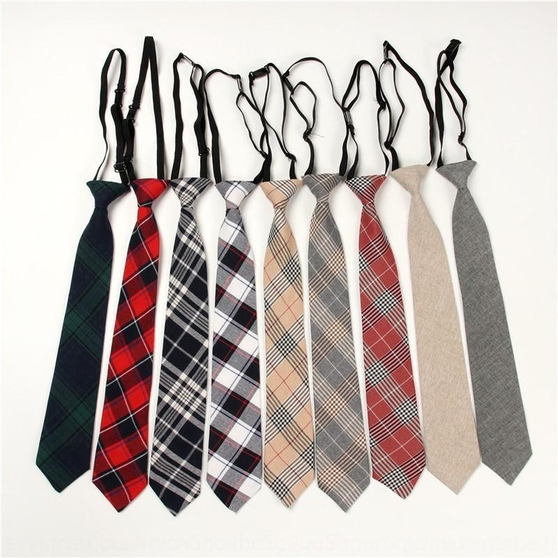 HQ5Ca avec le sous-réseau des femmes cravate Hange mode gratuit rouge paresseux handsomestyle Hanging shirt Chemise shirtJK petit uniforme