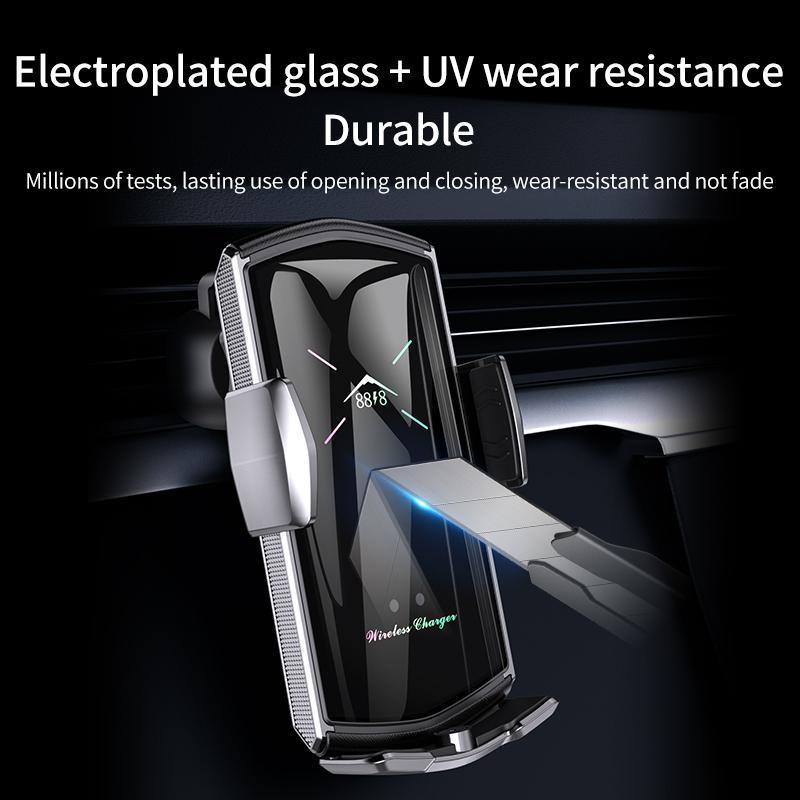 Rápido suporte de carga de carro E6 carro sem fio do carregador automático de fixação 5 cores suporte Suporte para telefone Android Air Vent Phone Holder