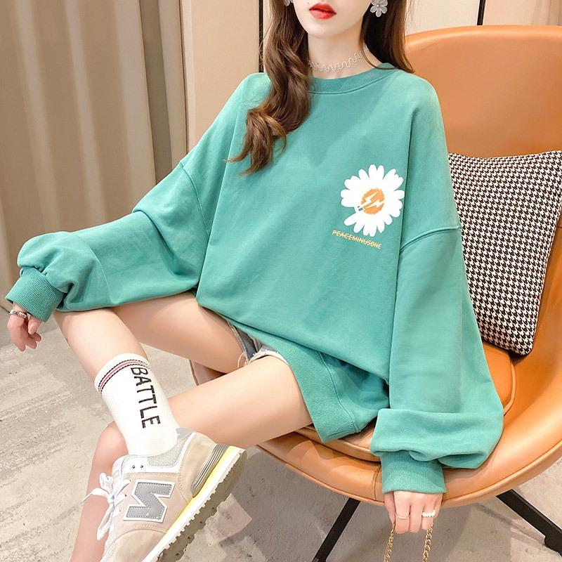 TOtXR Spring clothes women's sweater short coat women's fashionable ins autumn and 2020 New loose short coat autumn and clothin Korean thin w