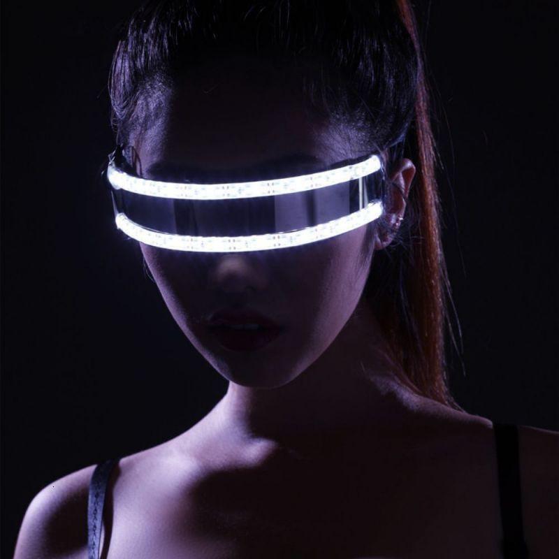 Творческий Laser Для ночных Выступают партия Танцы Светящихся водить маски Rave очки