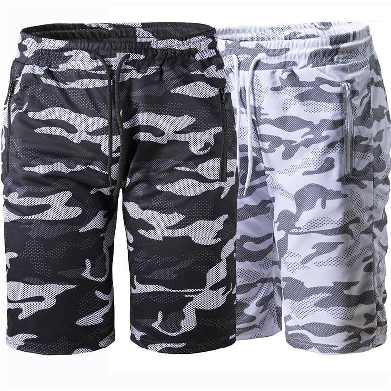 اللون الطبيعي سراويل عادية فضفاضة طول الركبة ملابس سروال للرجال الصيف الرجال السراويل موضة التمويه