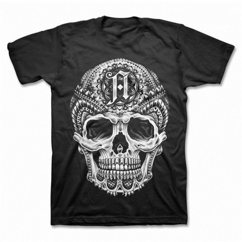 Mimarlık - Kafatası - T Gömlek S-M-L-XI-2XL yepyeni - T gömlek Yetişkin Günlük Tee Gömlek