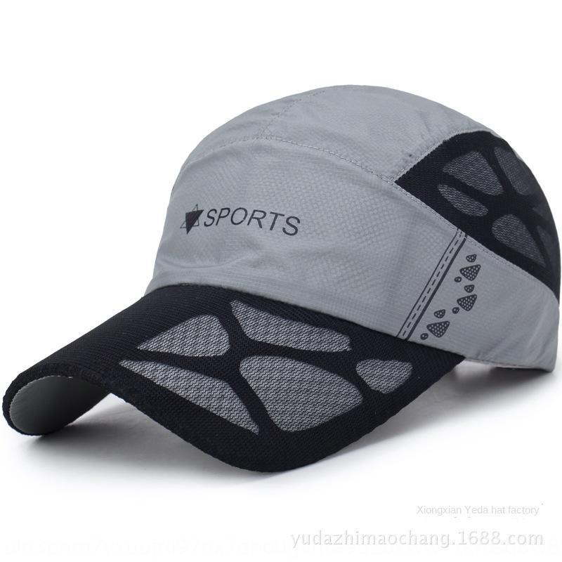 NKShR en punta de béisbol gorra de béisbol de hombres y mujeres de todo fósforo enarboló el casquillo de secado rápido gorro carta