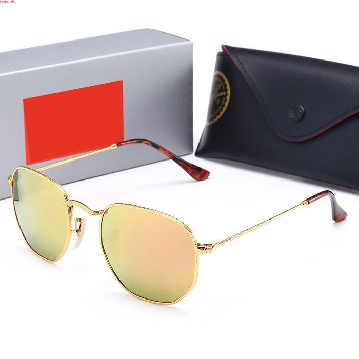 RayBan RB3548 Classic Polarized Sunglasses Moda Evidence Occhiali da sole Occhiali Per delle donne degli uomini Occhiali da sole Nuovi vetri di alta qualità Occhiali