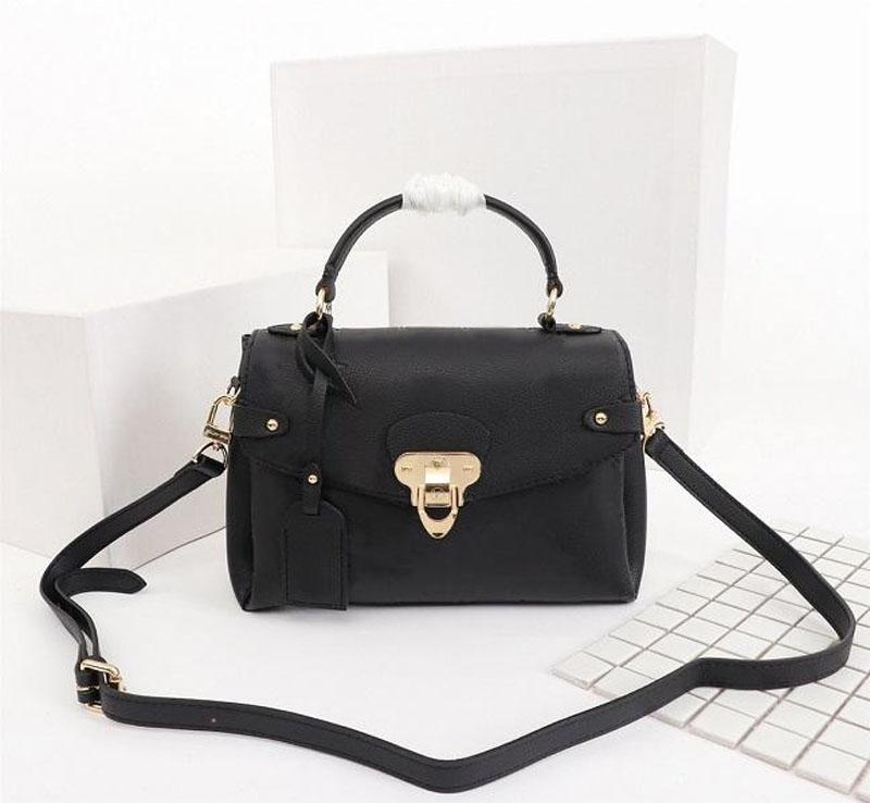 M53941 Fashion The Classic Crossbody Bags Georges High Metal Borse in metallo Donne Blocco di qualità Vera Borsa a tracolla in pelle Nuovo SPDUD