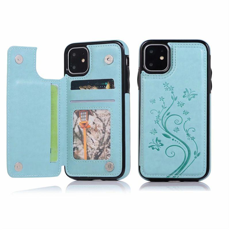 Custodie per il telefono Lady per iPhone 12 11 Pro Max XR XS SE Cover posteriore per Samsung Galaxy S20 S10 Plus Nota20 Custodia da taschino da taschino da taschino in pelle ultra