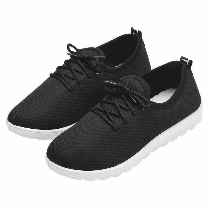 2020 Nova Primavera e Outono Womens Sapatos Moda Casual leve e macio suor absorvente respirável confortável antiderrapante Shoes Sapato omZq #