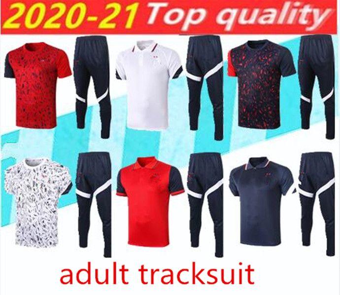 20 21 Futbol Eşofman POGBA Track Suits Griezmann Chandal Mbappe Adam Eğitim Suits Spor Giyer Soccer Jersey