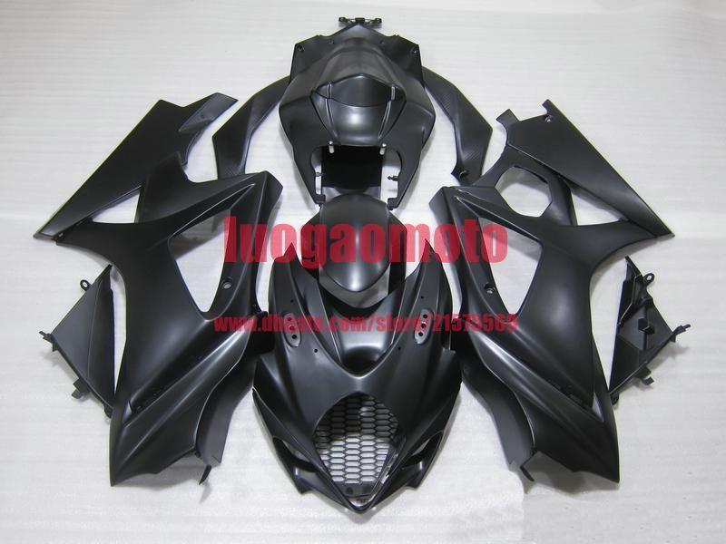 100% nouveau kit de carénages d'injection pour SUZUKI GSXR 1000 K5 GSXR1000 05-06 SUZUKI GSXR1000 2005-2006 K5 carrosserie #black # A1K5S